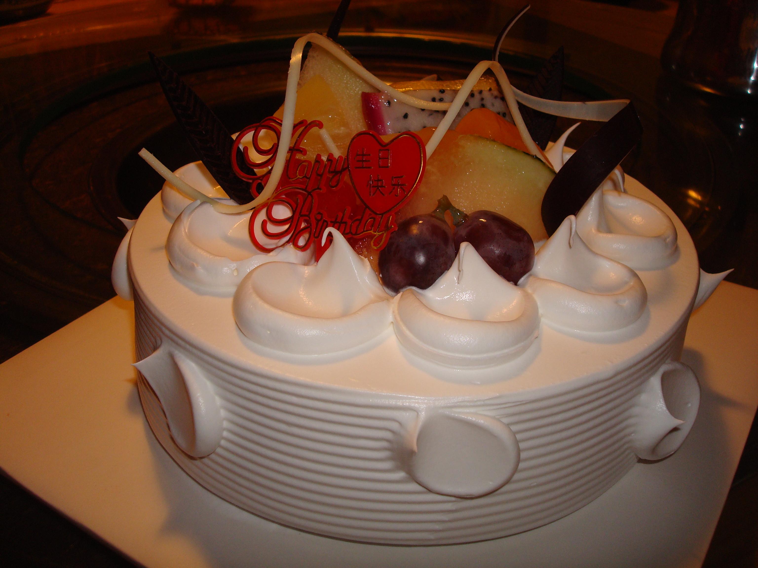 Birthday Cake Occidentallyoriented
